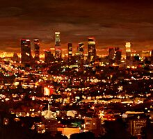City of Angels - City of Light - Los Angeles by artshop77