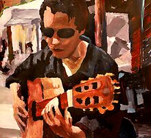 The Guitar Player from the Matrix by artshop77