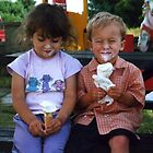 Kids from the Ice Cream Parlour  by David A. Everitt (aka silverstrummer)