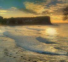 Morning Blessing - Avalon Headland, Sydney Australia - THe HDR EXperience by Philip Johnson