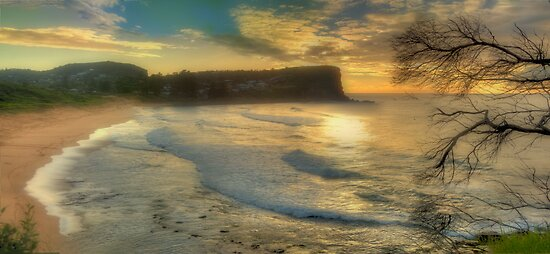 Morning Blessing - Avalon Headland, Sydney Australia - THe HDR EXperience by Philip Johnson
