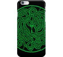 quozarrah green snake iPhone case iPhone Case/Skin