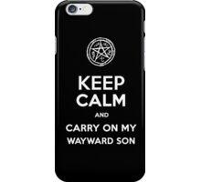 Keep Calm - Devil's Trap iPhone Case/Skin