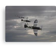 P47 Thunderbolt  -  'Cab Rank' Canvas Print
