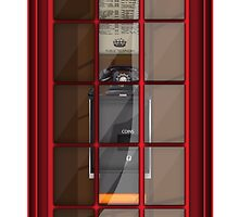 Red Telephone Box by Nick  Greenaway