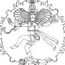 NATARAJ (Shiva) by bharath