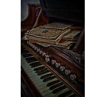 Old Organ Photographic Print