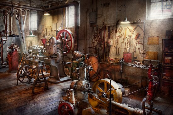 Machinist - A room full of memories  by Mike  Savad