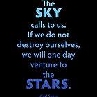 The Sky Calls To Us... by Karlika