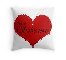Team Salvatore Throw Pillow