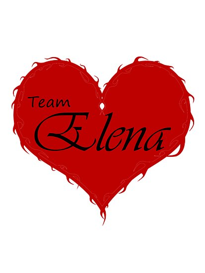Team Elena by MsHannahRB