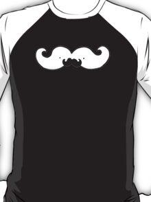 This moustache has it's own moustache!  T-Shirt
