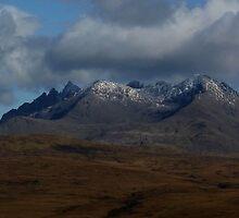 The Black Cuillin - Isle of Skye by Kat Simmons