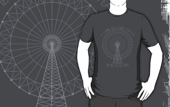 The Ferris Wheel - A Divergent Parody Shirt by Brittany  Collins