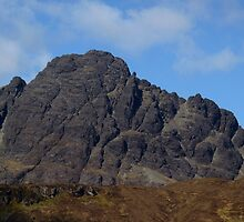 Blaven Detail - Isle of Skye by Kat Simmons