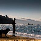 Le mystérieux de la plage! by Marie Moriscot