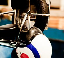 Lambretta helmet by Simon Evans