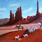 Navajo/Southwestern Painting by JamieTifft