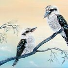 Kookaburras Two by © Linda Callaghan