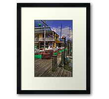 Is It Five O'Clock Yet? Framed Print