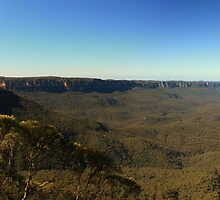The Blue Mountains by PePhotography