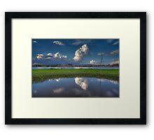 Cloud Patch Framed Print