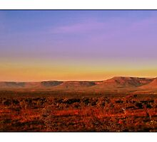 Cockburn Ranges Western Australia by David J Baster