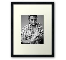 What!? Framed Print