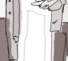 """Dean/Cas: """"You Dropped These"""" Sticker"""