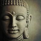 Buddha Head by Lyn  Randle