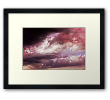 Wrong side of Heaven Framed Print