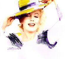 Marilyn In A Hat by Seth  Weaver