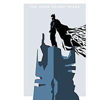 The Dark Knight Rises (Ice) Photographic Print