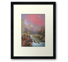 No Time For A Pipe Framed Print