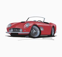 Ferrari 250 GT California Red by Richard Yeomans