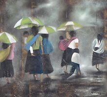 The Rain - La Lluvia by Bernhard Matejka