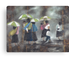 The Rain - La Lluvia Canvas Print