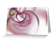 Heart Fractal Greeting Card