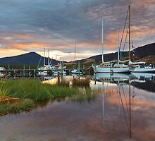 Wooden Boat Centre, Franklin, Tasmania #11 by Chris Cobern