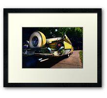 """ Rumble on the Asphalt Jungle "" Framed Print"