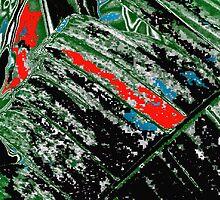Big Leaf in Black & Red by noriesworld