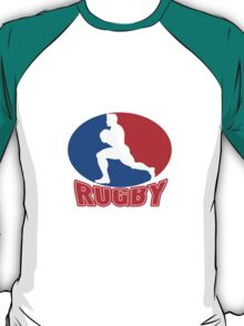 rugby player running ball T-Shirt