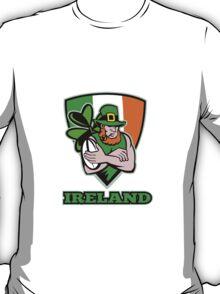 Irish leprechaun rugby player T-Shirt