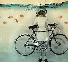 diving bell cyclist by vinpez