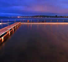Narrabeen Tidal Pool, New South Wales, Australia by Michael Boniwell