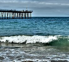 Hermosa Beach Surf by Kris Graves