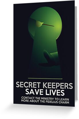 Secret Keepers Save Lives by flyingpantaloon