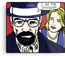 I Am the Danger Lichtenstein Metal Print