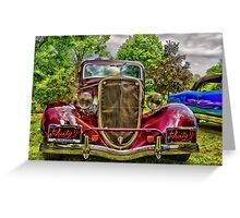 Take me for the ride! Greeting Card