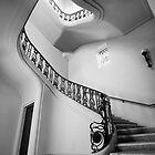 Stairwell (Black & White) by Firesuite